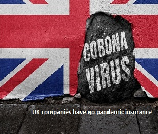 UK – Most small companies have no pandemic insurance
