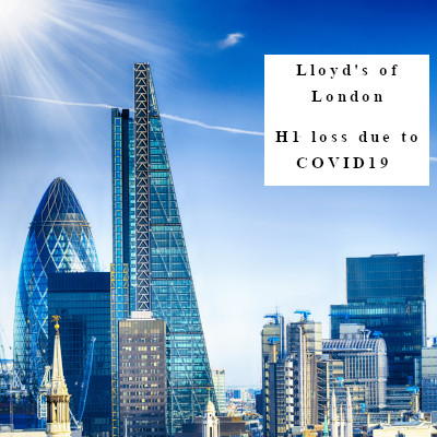 Lloyd's of London H1 – to pay 2.4 Billion pound COVID19 claims